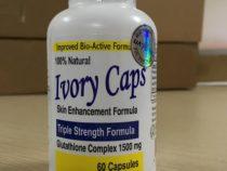 Thuốc Ivory Caps Glutathione 160 viên trắng làn da của nước Mỹ