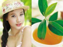 đột ngột với tác dụng làm đẹp hiệu quả hơn nhờ lá trà xanh