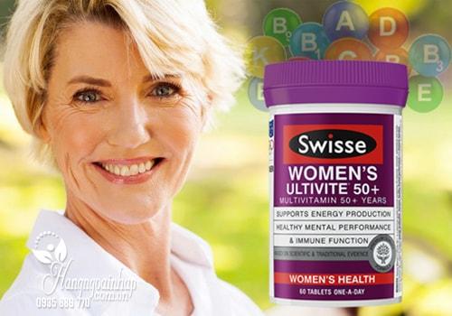 Swisse Womens Ultivite 50+ mua ở đâu? có tốt không
