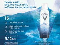 Cách sử dụng nước xịt khoáng Vichy