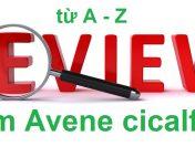 Review kem Avene cicalfate tổng hợp từ A đến Z