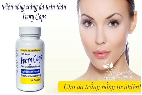 Cách uống Ivory Caps như thế nào là đúng-3