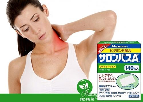 Miếng dán Salonpas giảm đau khớp có công dụng gì-3