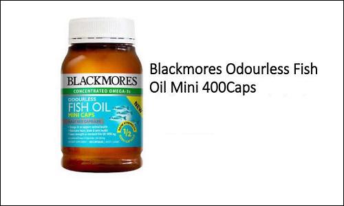 Blackmores Fish Oil 1000mg 400 capsules có tác dụng gì?