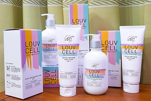 Cách sử dụng dưỡng trắng Louv Cell-1