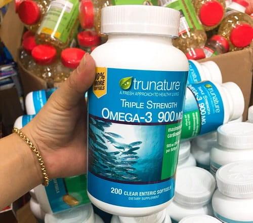 Viên uống Trunature Triple Strength Omega 3 có tác dụng gì-3