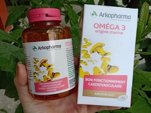 Viên uống dầu cá Omega 3 Arkopharma có tốt không-1