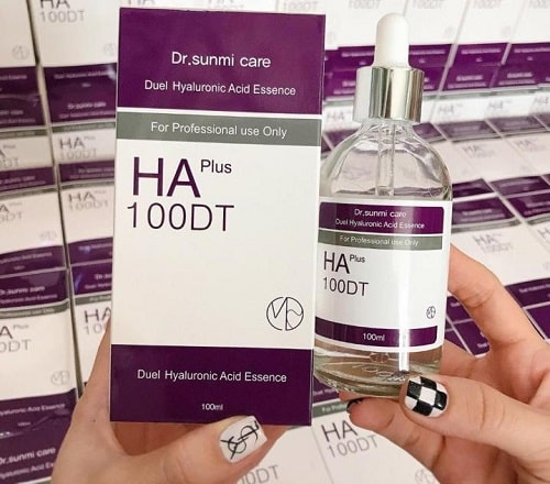 Cách sử dụng serum HA Plus 100DT-1