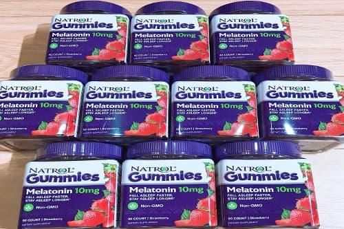 Kẹo ngủ Natrol Gummies Melatonin 10mg có tốt không-2