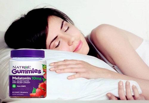 Kẹo ngủ Natrol Gummies Melatonin 10mg có tốt không-3