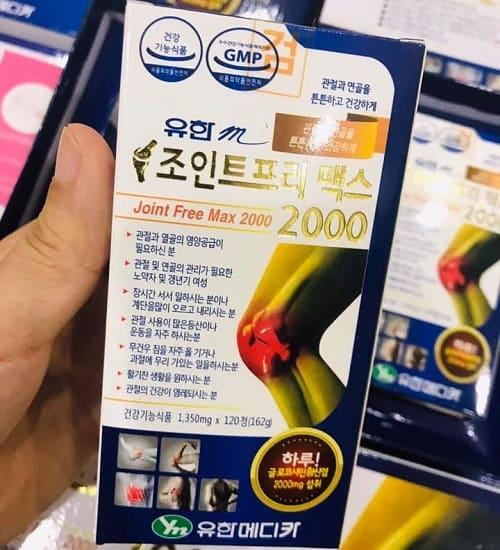 Viên uống bổ khớp Kwang Dong Joint Free Max 2000 giá bao nhiêu-2