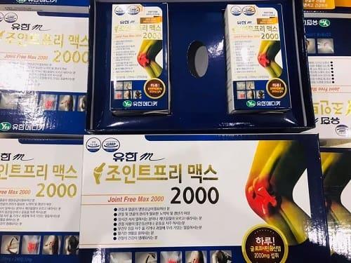 Viên uống bổ khớp Kwang Dong Joint Free Max 2000 giá bao nhiêu-3