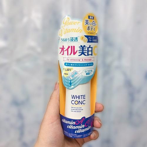 Dầu dưỡng da White Conc có tác dụng gì?-2