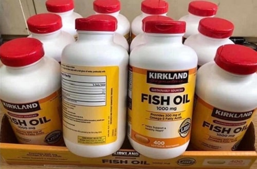 Review viên uống dầu cá Omega 3 Fish Oil 1000mg Kirkland-1