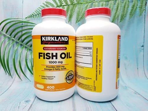Review viên uống dầu cá Omega 3 Fish Oil 1000mg Kirkland-3