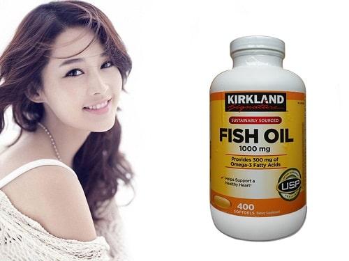 Review viên uống dầu cá Omega 3 Fish Oil 1000mg Kirkland-5