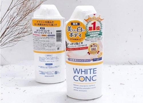 Sữa tắm White Conc có hiệu quả không? Có tác dụng gì?-2