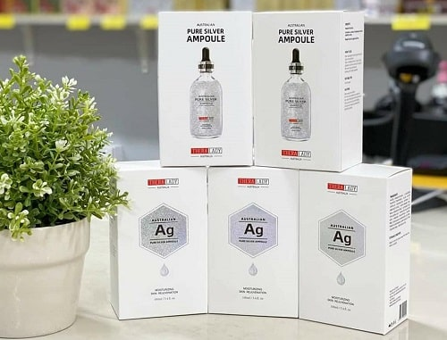 Serum bạc Australian Pure Silver Ampoule review-1