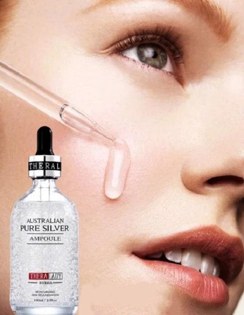 Serum bạc Australian Pure Silver Ampoule review-5