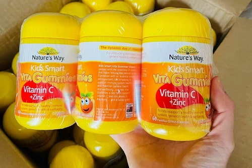 Kẹo dẻo Nature's Way Vitamin C Zinc công dụng gì?-1