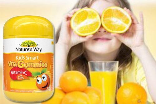 Kẹo dẻo Nature's Way Vitamin C Zinc công dụng gì?-3
