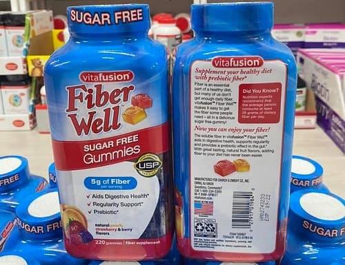 Kẹo dẻo Vitafusion Fiber Well có tác dụng gì?-1