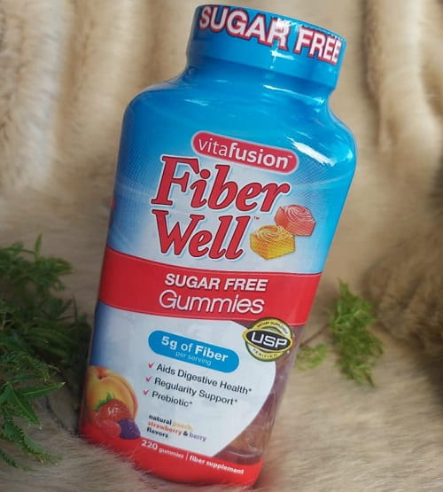Kẹo dẻo Vitafusion Fiber Well có tác dụng gì?-2